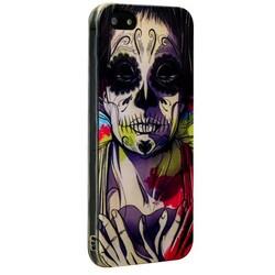 Чехол-накладка UV-print для iPhone SE/ 5S/ 5 силикон (арт) тип 23