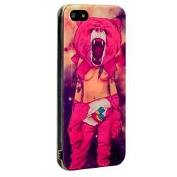 Чехол-накладка UV-print для iPhone SE/ 5S/ 5 силикон (18+) тип 39
