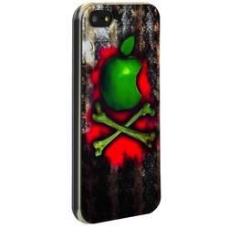 Чехол-накладка UV-print для iPhone SE/ 5S/ 5 силикон (бренды) тип 75