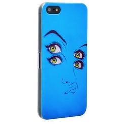 Чехол-накладка UV-print для iPhone SE/ 5S/ 5 пластик (арт) тип 83