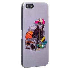 Чехол-накладка UV-print для iPhone SE/ 5S/ 5 пластик (арт) тип 89