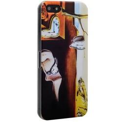 Чехол-накладка UV-print для iPhone SE/ 5S/ 5 пластик (арт) тип 150