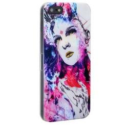 Чехол-накладка UV-print для iPhone SE/ 5S/ 5 пластик (арт) тип 154