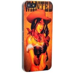 Чехол-накладка UV-print для iPhone SE/ 5S/ 5 пластик (18+) тип 03