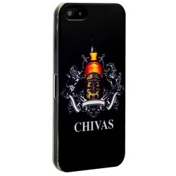 Чехол-накладка UV-print для iPhone SE/ 5S/ 5 пластик (бренды) тип 52