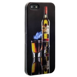 Чехол-накладка UV-print для iPhone SE/ 5S/ 5 пластик (бренды) тип 55