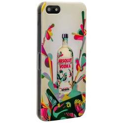 Чехол-накладка UV-print для iPhone SE/ 5S/ 5 пластик (бренды) тип 54