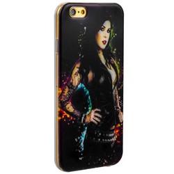 Чехол-накладка UV-print для iPhone 6s/ 6 (4.7) силикон (18+) тип 105