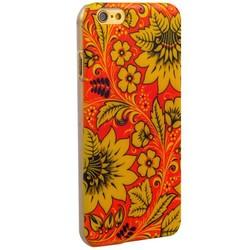 Чехол-накладка UV-print для iPhone 6s/ 6 (4.7) пластик (цветы) тип 39