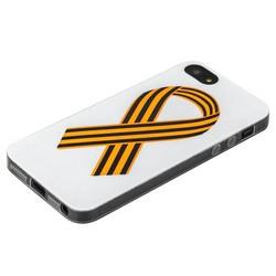 Чехол-накладка UV-print для iPhone SE/ 5S/ 5 силикон (праздники) тип 001