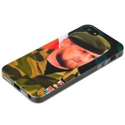 Чехол-накладка UV-print для iPhone SE/ 5S/ 5 силикон (тренд) Рамзан Кадыров тип 002