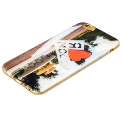 Чехол-накладка UV-print для iPhone 6s/ 6 (4.7) силикон (города) тип 002