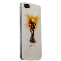 Чехол-накладка UV-print для iPhone SE/ 5S/ 5 силикон (спорт) Чемпионат мира тип 006