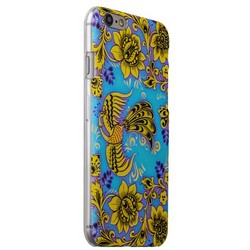 Чехол-накладка UV-print для iPhone 6s/ 6 (4.7) пластик (цветы и узоры) Хохлома тип 002