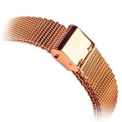 Ремешок - сетчатый браслет Миланский COTEetCI W2 (CS2063-RGD) для Apple Watch 44мм/ 42мм Розовое золото