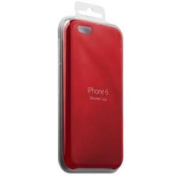 Чехол-накладка силиконовый Silicone Case для iPhone 6s/ 6 (4.7) Product red Красный №14