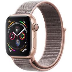Часы Apple Watch Series 4 GPS 40mm (Gold Aluminum Case with Pink Sand Sport Loop)