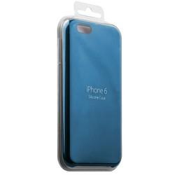 Чехол-накладка силиконовый Silicone Case для iPhone 6s/ 6 (4.7) Light blue Голубой №16
