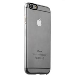 Накладка пластиковая iBacks Inherent Jacket Transparent Case для iPhone 6s Plus/ 6 Plus (5.5) - (ip60311) кнопка Silver