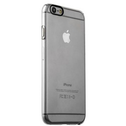 Накладка пластиковая iBacks Inherent Jacket Transparent Case для iPhone 6s Plus/ 6 Plus (5.5) - (ip60312) кнопка Gray