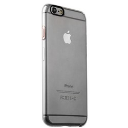 Накладка пластиковая iBacks Inherent Jacket Transparent Case для iPhone 6s Plus/ 6 Plus(5.5) - (ip60313) кнопка Rose Gold