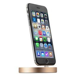 Док-станция COTEetCI Base9 Lightning stand CS2318-CEG для iPhone X/ 8 Plus/ 8/ 7 Plus7/ 6/ SE/ iPod touch Золотистая