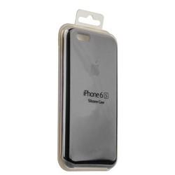 Чехол-накладка силиконовый Silicone Case для iPhone 6s/ 6 (4.7) Charcoat grey Угольно-серый №15