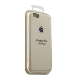 Чехол-накладка силиконовый Silicone Case для iPhone 6s/ 6 (4.7) White Мраморно-белый №3