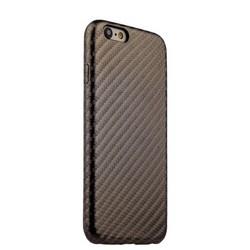 Накладка (карбон) ультра-тонкая для iPhone 6s/ 6 (4.7) Olive Brown - Шоколадный