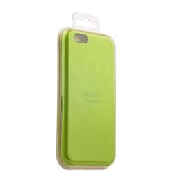 Чехол-накладка силиконовый Silicone Case для iPhone 6s/ 6 (4.7) Зеленый №39