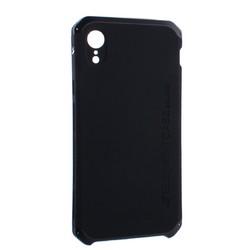 """Чехол-накладка противоударный (AL&Pl) для Apple iPhone XR (6.1"""") Solace Черный (черный ободок)"""