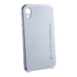 "Чехол-накладка Element Case (AL&Pl) для Apple iPhone XR (6.1"") Solace Серебристый (серебристый ободок)"