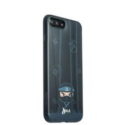 "Накладка пластиковая iBacks Ninja PC Case для iPhone 8 Plus/ 7 Plus (5.5"") - (ip70008) Black Черная"
