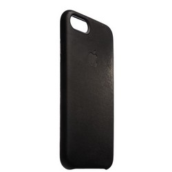 "Чехол-накладка кожаная Leather Case для iPhone 8/ 7 (4.7"") Black - Черный"