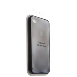 Чехол-накладка силиконовый Silicone Case для iPhone 8/ 7 (4.7) Black Черный №18