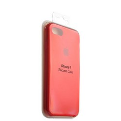 Чехол-накладка силиконовый Silicone Case для iPhone 8/ 7 (4.7) Red Красный №2