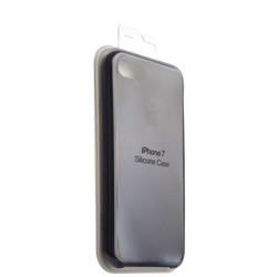 Чехол-накладка силиконовый Silicone Case для iPhone 8/ 7 (4.7) Midnight blue Тёмно-синий №8