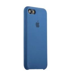 Чехол-накладка силиконовый Silicone Case для iPhone 8/ 7 (4.7) Saphhire Синий №16