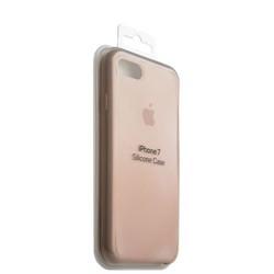 Чехол-накладка силиконовый Silicone Case для iPhone 8/ 7 (4.7) Light pink Светло-розовый №12