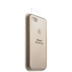 Чехол-накладка силиконовый Silicone Case для iPhone 8/ 7 (4.7) Stone Бежевый №10