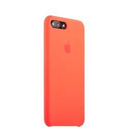 Чехол-накладка силиконовый Silicone Case для iPhone 8 Plus/ 7 Plus (5.5) Orange Оранжевый №13