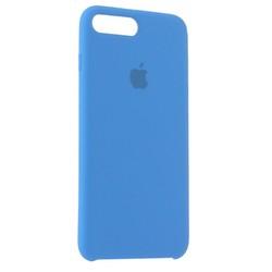 Чехол-накладка силиконовый Silicone Case для iPhone 8 Plus/ 7 Plus (5.5) Azure Лазурный №28