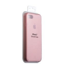 Чехол-накладка силиконовый Silicone Case для iPhone 8/ 7 (4.7) Flamingo Персиковый №27