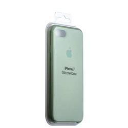 Чехол-накладка силиконовый Silicone Case для iPhone 8/ 7 (4.7) Forest Green Зеленый лес