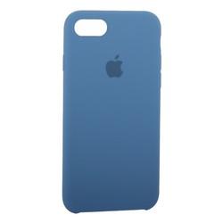 Чехол-накладка силиконовый Silicone Case для iPhone 8/ 7 (4.7) Azure Лазурный №28