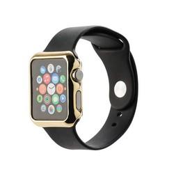 Чехол пластиковый COTEetCI Soft case для Apple Watch Series 1 (CS7016-CE) 42мм Золотистый