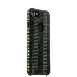 Чехол-накладка силиконовый COTEetCI Vogue Silicone Case для iPhone 8/ 7 (4.7) CS7023-BK-GR Черный/ Зеленый