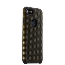 Чехол-накладка силиконовый COTEetCI Vogue Silicone Case для iPhone 8/ 7 (4.7) CS7023-BK-OR Черный/ Оранжевый