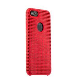 Чехол-накладка силиконовый COTEetCI Vogue Silicone Case для iPhone 8/ 7 (4.7) CS7023-RD-BK Красный/ Черный