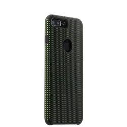 Чехол-накладка силиконовый COTEetCI Vogue Silicone Case для iPhone 8 Plus/ 7 Plus (5.5) CS7025-BK-GR Черный/ Зеленый